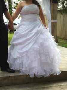 Robe de mariée de taille 16-22 ans