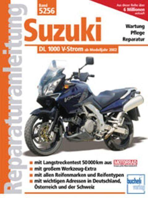 WERKSTATTHANDBUCH REPARATURANLEITUNG WARTUNG 5256 SUZUKI 1000 V-STROM