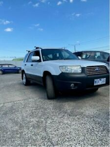 2006 Subaru Forester White Wagon Campbellfield Hume Area Preview