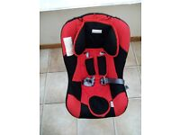 child seat 0-18kg , (approx 0-4years) .