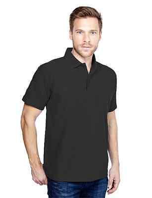 Xl Stück (3 Stück Polo Poloshirt Gr.6XL XXXXXXL 76 78 schwarz Hemd Übergröße Shirt T-Shirt)