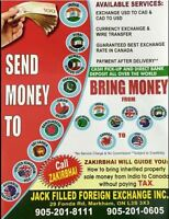 Currency Exchange And Money Transfer