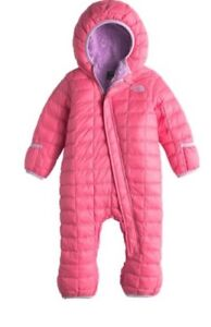North Face onesie thermoball pink