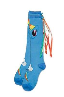 dship Is Magic Rainbow Dash Knee Socks With Tail (Rainbow Dash Socken)