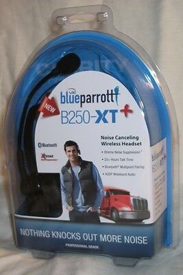 NEW, Blue Parrott B250XT PLUS Bluetooth Headset, Noise Cancelling, Parrot VXI on Rummage