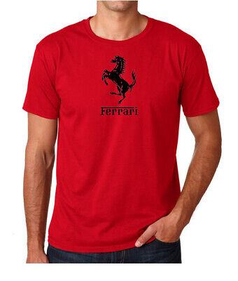 Ferrari Motor Sports Mens T Shirt Gift