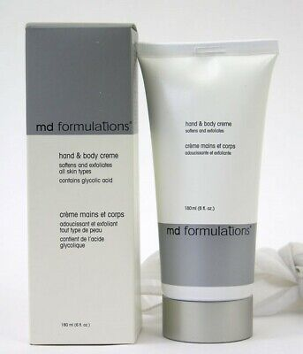 MD Formulations Hand & Body Creme 6 oz Moisturizer Soft Hydrate Dry Skin Lotion for sale  Shipping to India