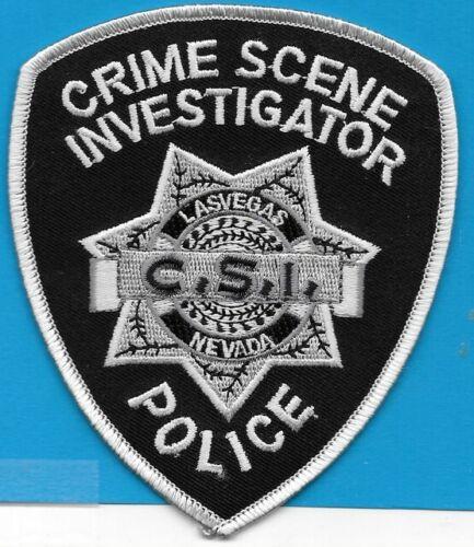 LAS VEGAS NV POLICE DEPT CSI CRIME SCENE INVESTIGATOR (FIRE) NEVADA DPS