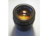 Leica Summicron 50mm f2 Black (Latest version, non APO)