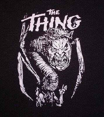 PATCH - The Thing - canvas screen print HORROR - John Carpenter, Sci Fi