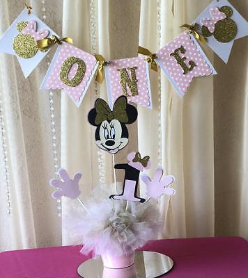 Minnie Mouse Centerpieces stick/ Minnie mouse theme/ centerpieces stick shapes