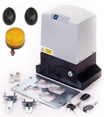 Torantrieb Schiebetor Schiebetorantrieb Set bis 1500 kg Torgewicht inkl. Zubehör