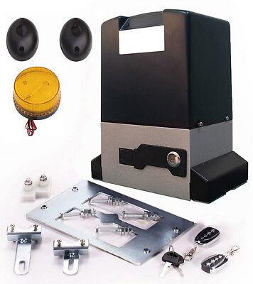 Torantrieb Schiebetor Schiebetorantrieb Set bis 2000 kg Torgewicht inkl. Zubehör