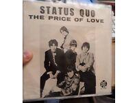 STATUS QUO very rare portugal unique cover! Mod psychedelic rock
