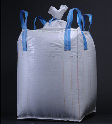Recycled Bulk Bags Super Sacks, Flexible Polypropylene Containers 39x39x36 - 2T
