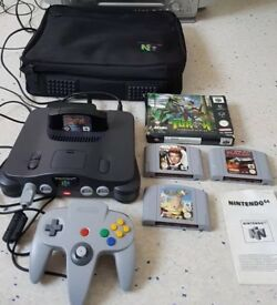 Nintendo64 Games Console Bundle