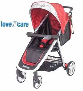 reduced! Love N Care Stroller layback smart compact fold recline Chadstone Monash Area Preview