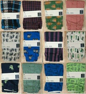 NIP Mens GAP Boxers 100% Cotton Choose Pattern and Size Lot 2A