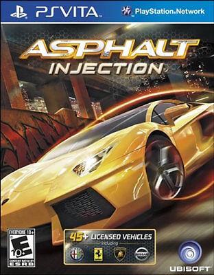 Asphalt: Injection PSV New playstation_vita