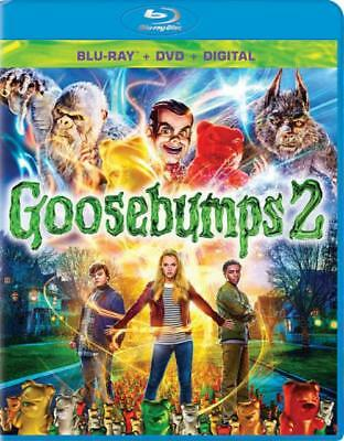 GOOSEBUMPS 2: HAUNTED HALLOWEEN NEW BLU-RAY/DVD (Haunted Halloween Escape 2)