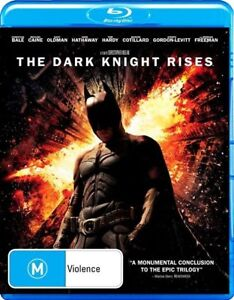 The Dark Knight Rises (Blu-ray, 2012) New ExRetail Stock Genuine & unSealed D46