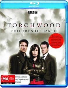 Torchwood - Children of Earth (Blu-ray, 2009, 2-Disc Set) Brand New & Sealed