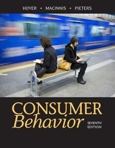Consumer Behavior 6e by Rik Pieters, Deborah J. MacInnis, Wayne (3 Days to AUS)
