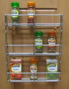 chrome kitchen storage racks 3 tier h duty spice rack chrome kitchen cabinet door 5421