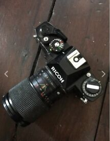 Ricoh KR-10 SLR & SIRIUS Lense