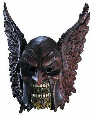 BLACKEST NIGHT HAWKMAN ZOMBIE DELUXE OVERHEAD LATEX MASK! ADULT COSTUME - Zombie Costume Adults
