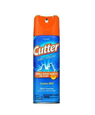 Cutter Insect Repellent, Unscented 6 Oz (pack Of 5)