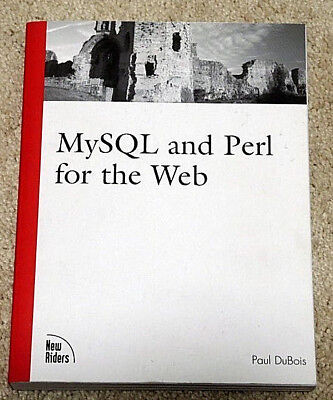 New  Mysql And Perl For The Web  First Edition By Paul Dubois