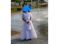 1st Holy Communion Dress age 8-9