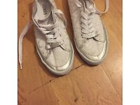 GUESS White Trainers