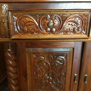 French style solid wooden cabinet for sale $386