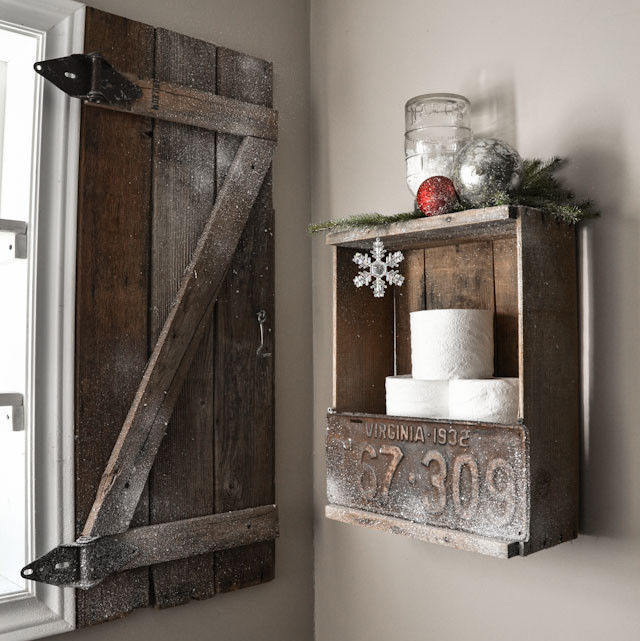 Create a barnwood shutter / part of 5 beautifully unique window treatments you can make yourself, by Funky Junk Interior