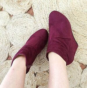 Ankle Boots Faux Suede Petersham Marrickville Area Preview