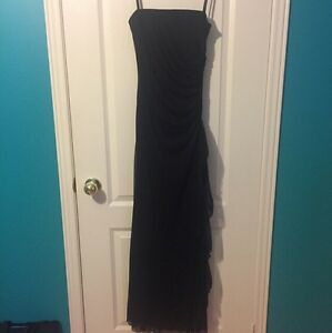 Formal Fairweather Strapless Black Dress