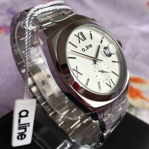 Brand New a-line Silver Tone Stainless Steel Watch by Swiss Watch Intl Maroubra Eastern Suburbs Preview