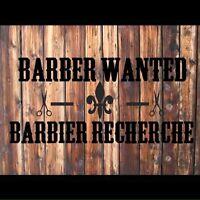 Barber / hairdresser wanted