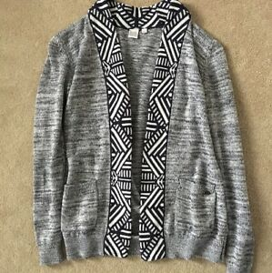 TWIK AZTEC OPEN CARDIGAN-NEW!