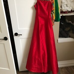 Red grad dress for sale