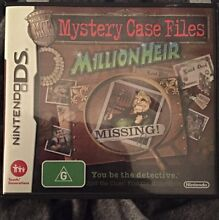 Mystery Case Files - Nintendo DS Eltham Nillumbik Area Preview
