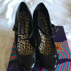 Women's black costume heels Caringbah Sutherland Area Preview