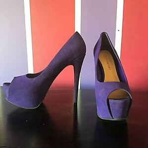 Gorgeous Purple Pumps