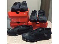 Nike Flyknit Racer Triple Black