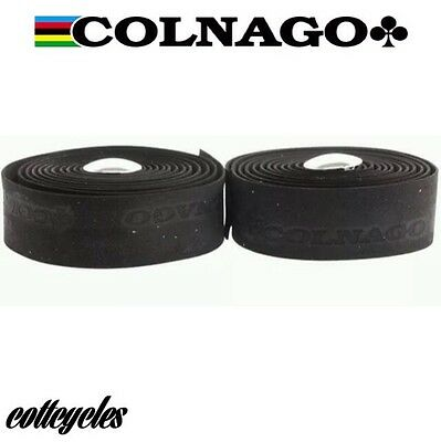 Colnago black bar tape road handlebar tape