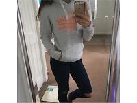 Superdry grey hoodie