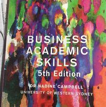 Business Academic Skills 5th edn TEXTBOOK Bonnyrigg Heights Fairfield Area Preview