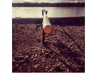 Gray fishing carp rods 70 Ono